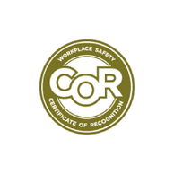 COR-Certified by the Alberta Construction Safety Association
